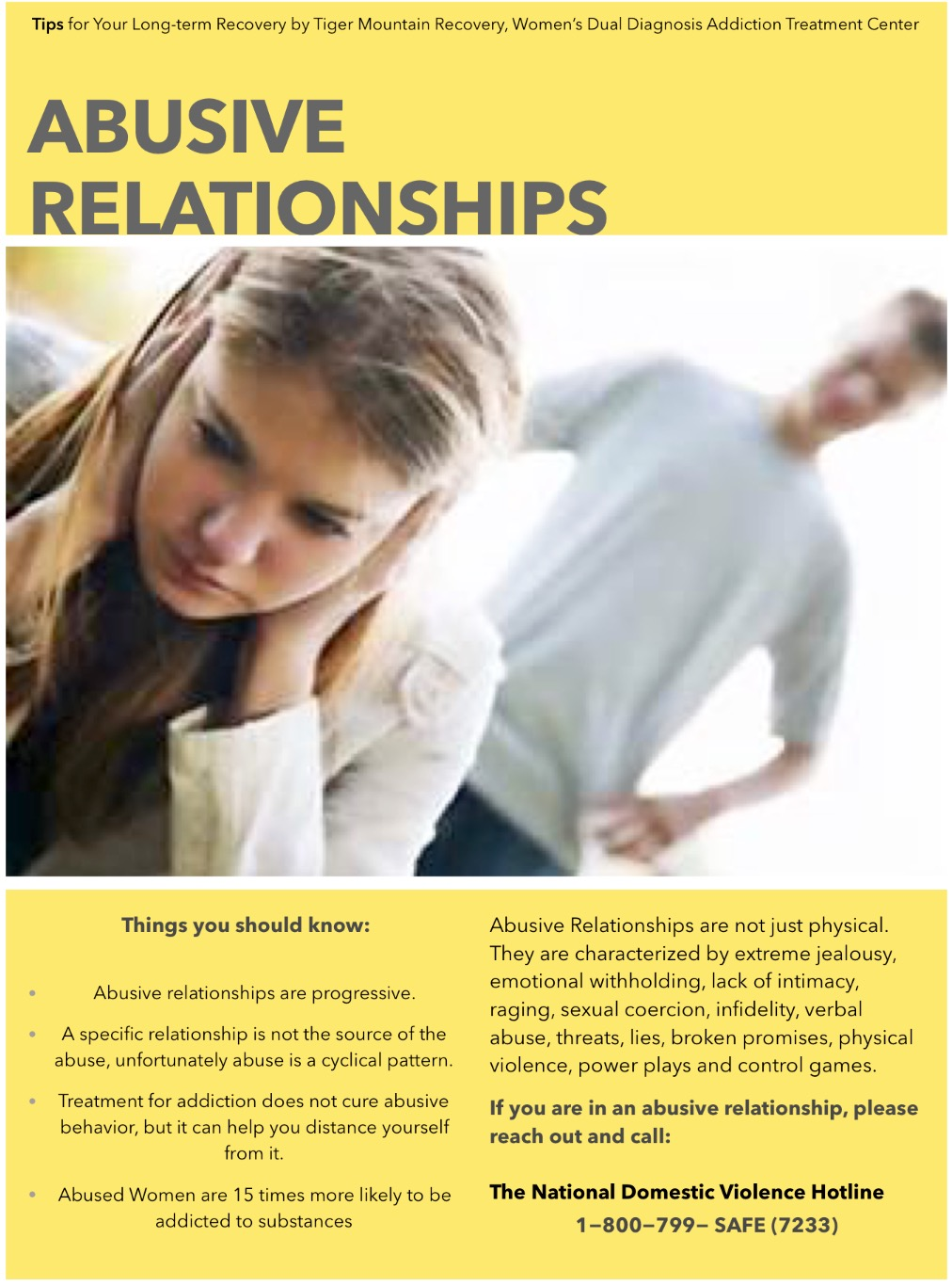 what does an abusive relationship look like